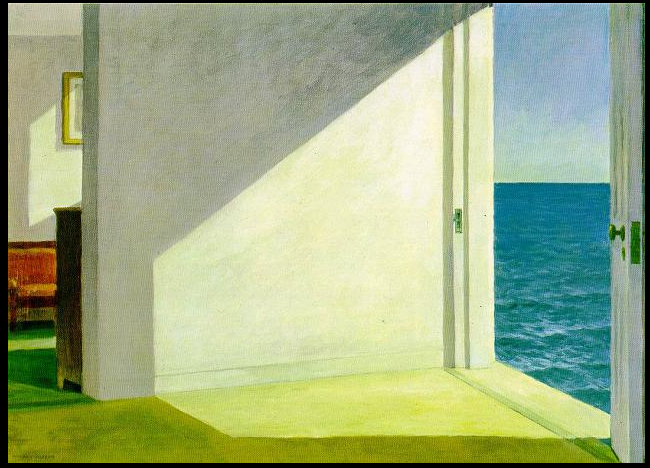 Rooms by the Sea - Edward Hopper, 1951
