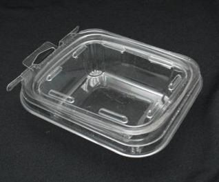 Item No 1130 1 2 Pint Tamper Evident Clamshell Container Clear Plastic Qty 240 Clamshell Container Stackable