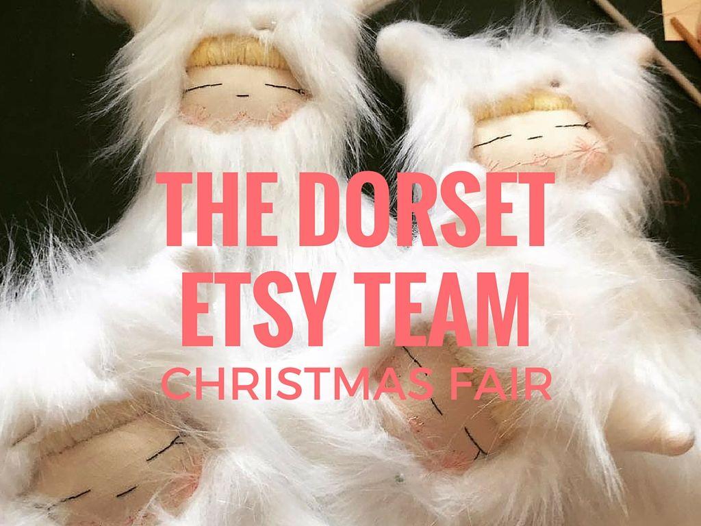 The Dorset Etsy Team Christmas Fair 2015 write up by
