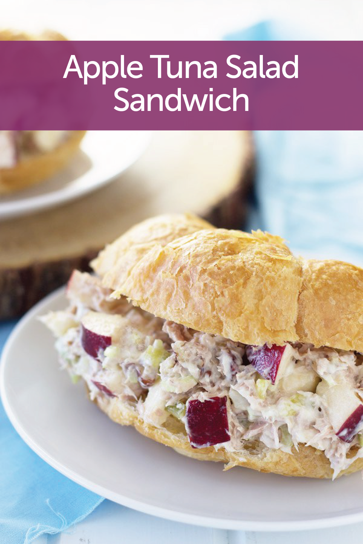 Check out apple tuna salad sandwich it 39 s so easy to make for How to make tuna fish sandwich