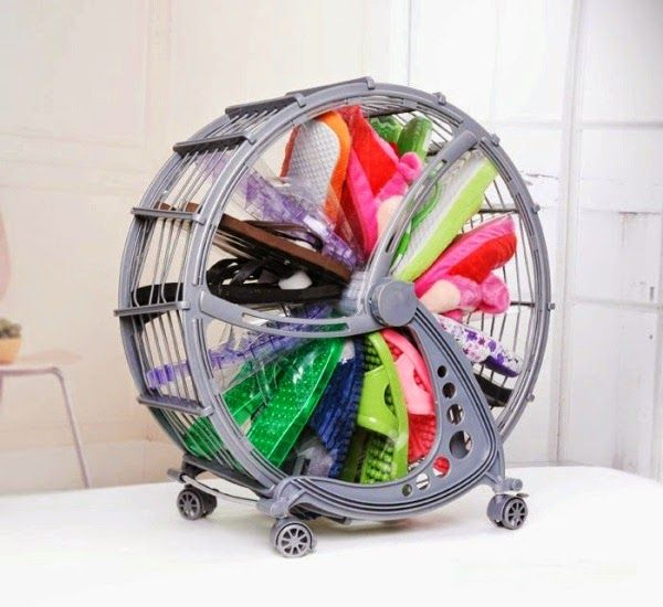 the ferris wheel shoe rack, rotating shoe rack ~ goods home design