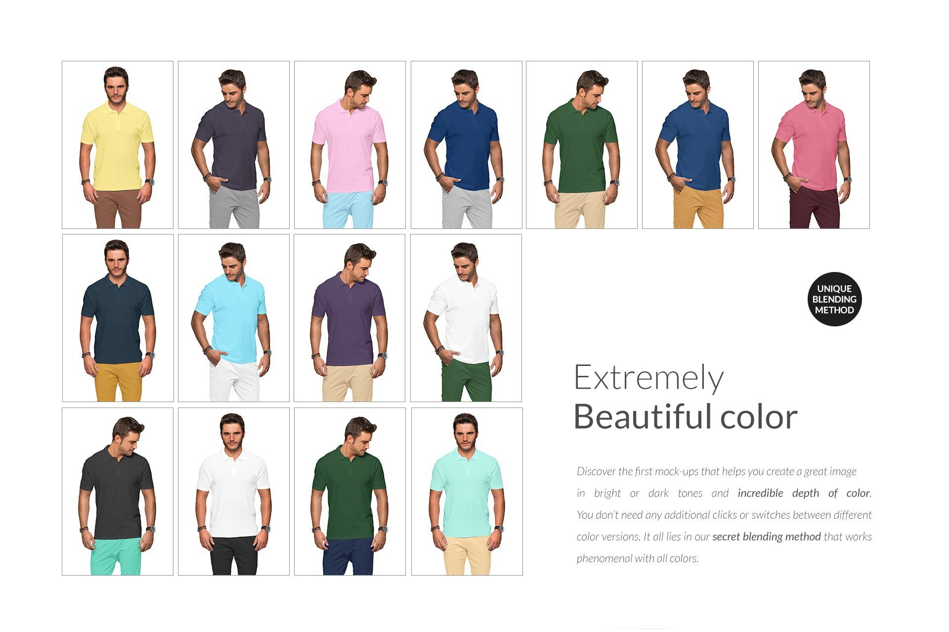Download Men Polo Shirt Mockups Set Free Demo Mens Polo Shirts Selling Photos Mocking