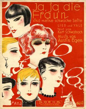 Ja, ja die Frau'n, 1928 (ill.: Willy Herzig); ref. 12550
