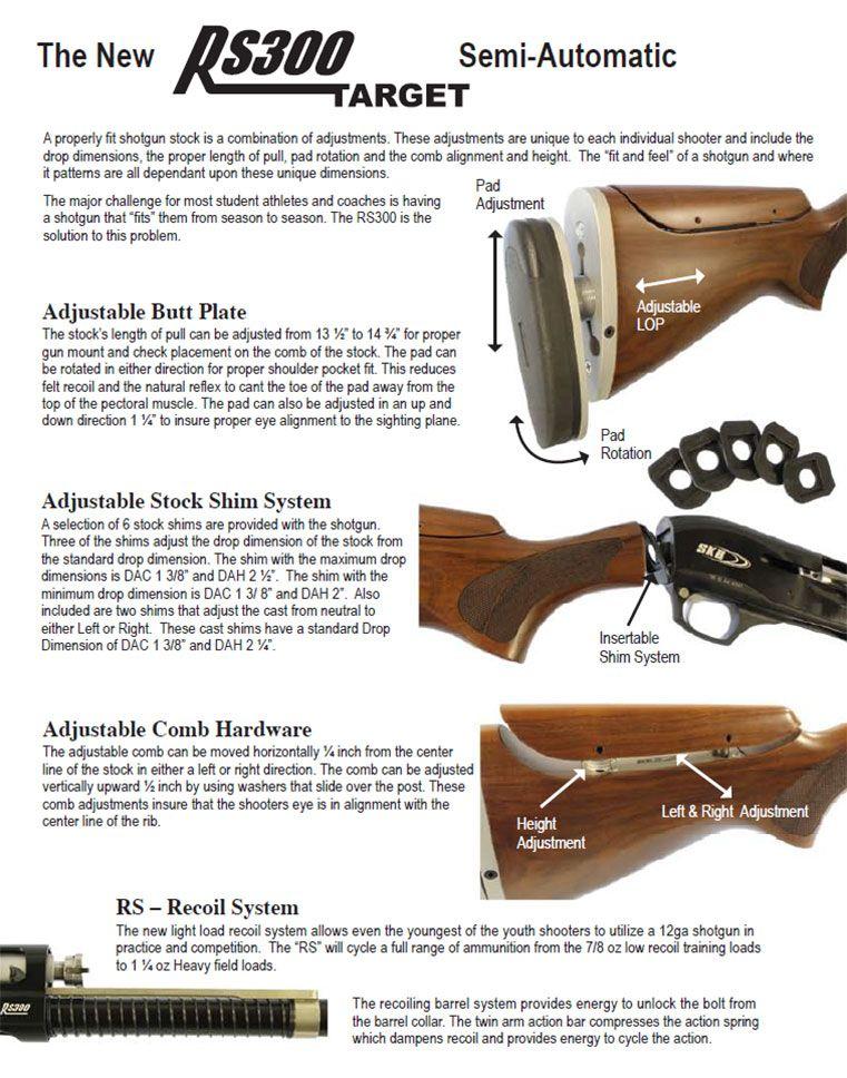 SKB Shotguns: Model RS300 | z Guns | Shotgun, Model, Guns