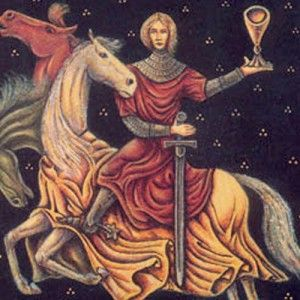 Perceval the red knight follow the link attached to this - La table ronde du roi arthur ...