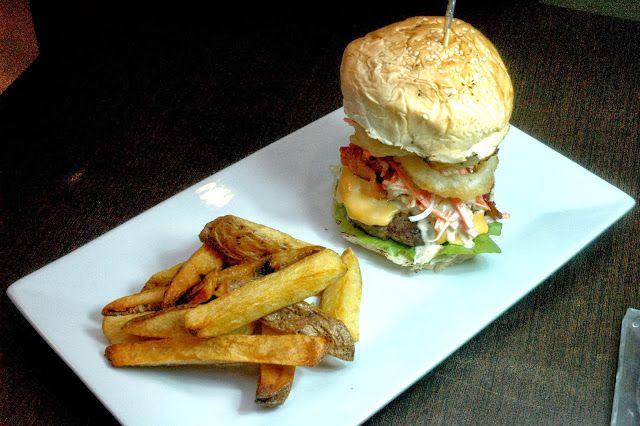 Half-Pounder Solace Burger