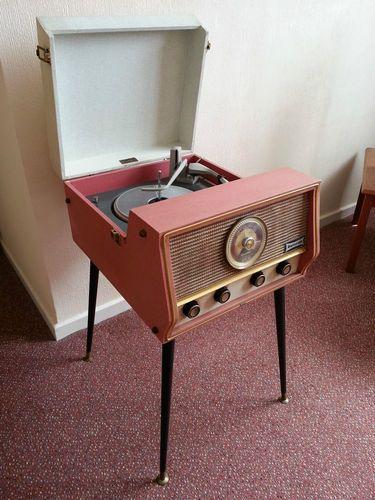 Vintage Valve Dansette Rg31 Record Player Radiogram