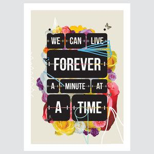Time Of You Life Print, 20€, now featured on Fab.