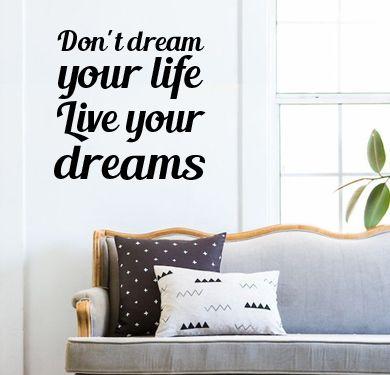 Ba b vinilo decorativo de pared podes enviar tu frase o - Papel decorativo para pared ...