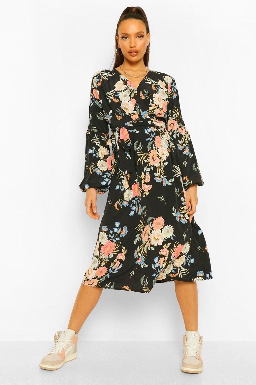 Tall Woven Floral Maxi Dress Boohoo Floral Maxi Dress Tall Maxi Dress Floral Maxi [ 1500 x 1000 Pixel ]