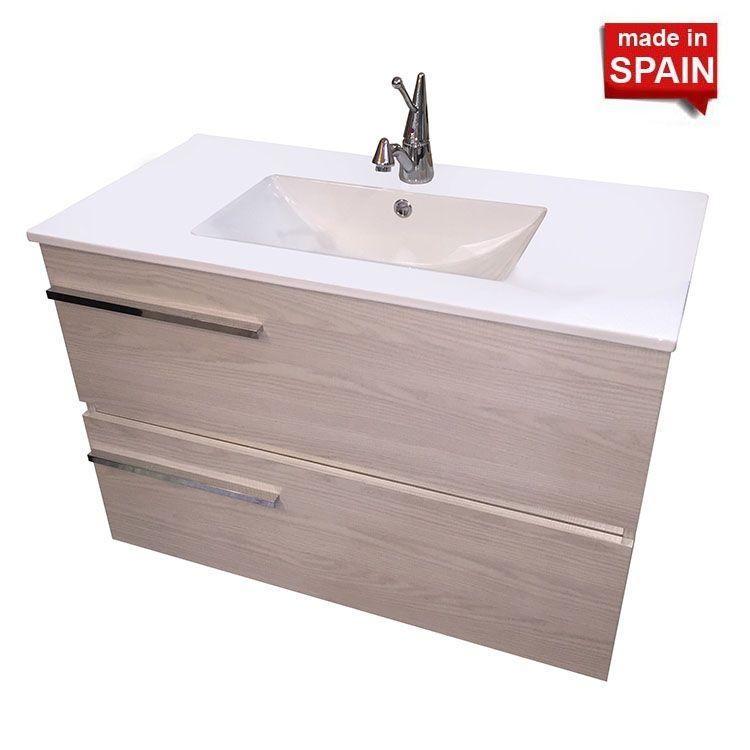 36 In SAMARA European Bathroom Vanity SOCIMOBEL Made In Spain NBSMSA 36T