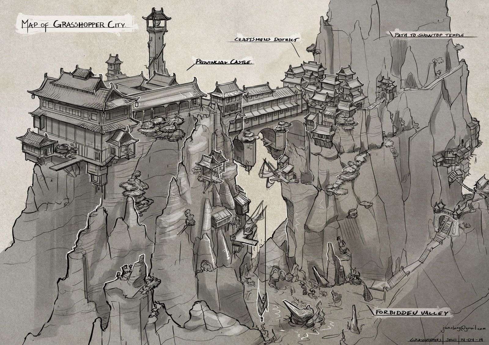 Grasshopper City by Rubisko on deviantART | Create your own