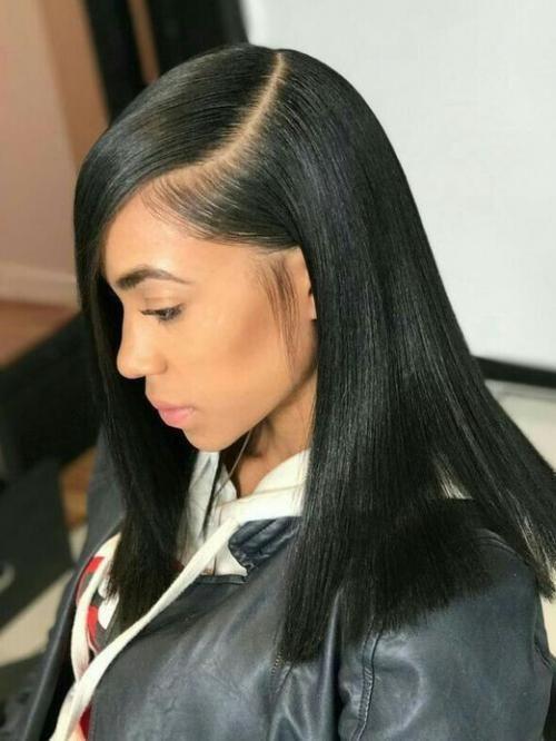 14 Inches Indian Virgin Full Lace Human Hair Sleek Bob Human Hair Wigs Babalahair Straight Hairstyles Wig Hairstyles Hair Styles