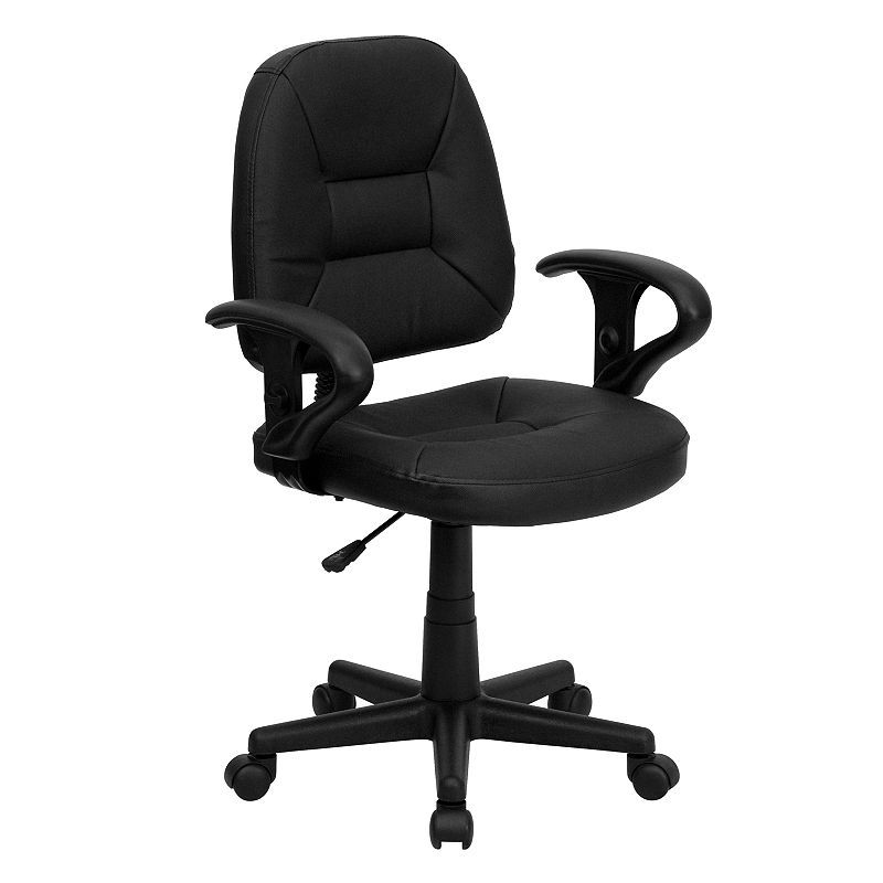 Remarkable Contemporary Mid Back Task Office Chair Products Desk Pdpeps Interior Chair Design Pdpepsorg