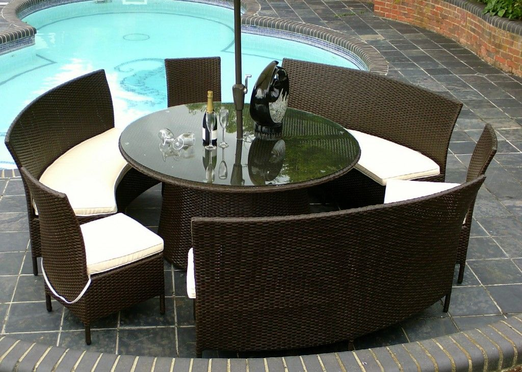 15 Best Rattan Garden Furniture Ideas http