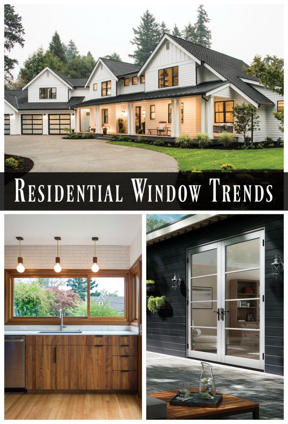 Residential Window Trends Residential windows, Modern