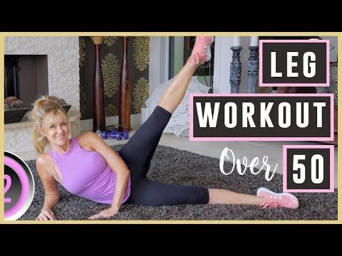 leg workout for women over 50  youtube with images