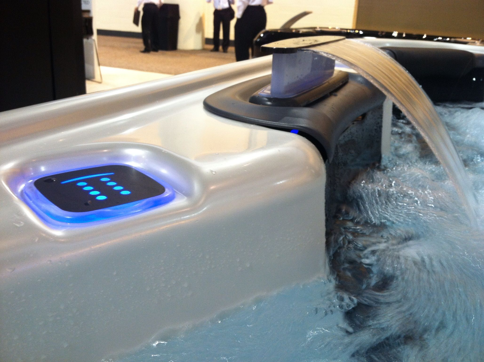 existing added to pool bullfrog spas photo hot tub category