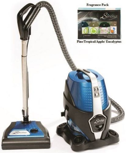 sirena water based vacuum cleaner 2 speed w/ fragrances for