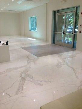Tile Store Floor Showroom In Anaheim Industrial Floor Tiles