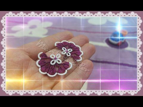 Mekik Oyası Dolgulu Çiçek Motifi Yapımı Videolu Anlatımlı
