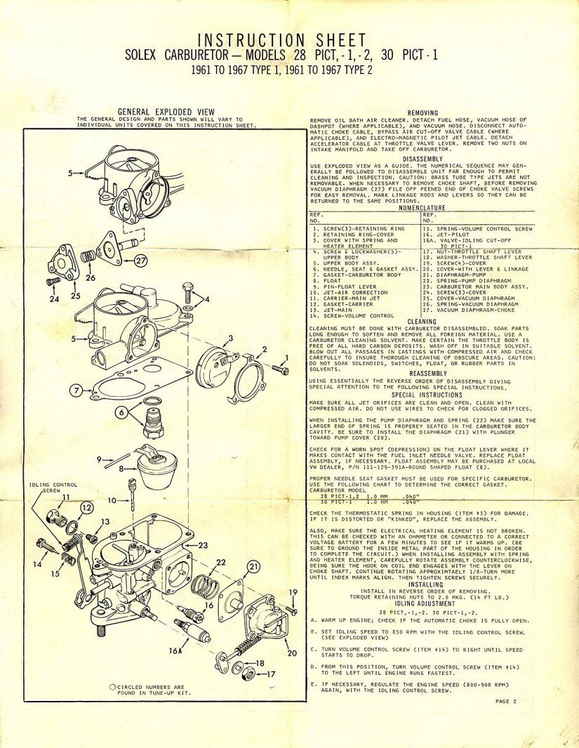 Vw Beetle Solex Carburetor Pinterest Beetles And Avan Caravan Wiring Diagram Porsche Design Engine Bus Ferdinand