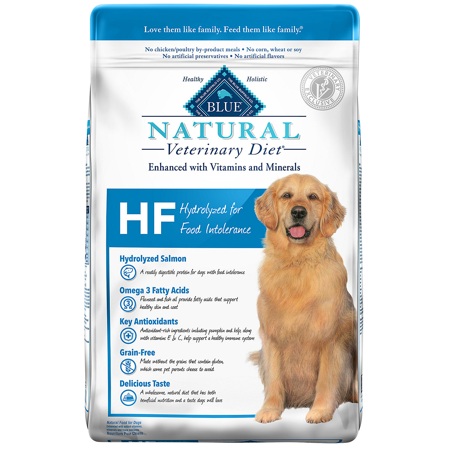 Blue Buffalo Blue Natural Veterinary Diet Hf Hydrolyzed For Food