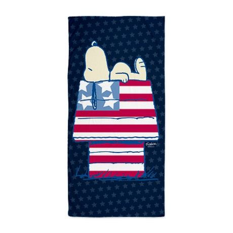 Snoopy 4th Of July Beach Towel By Snoopystore With Images
