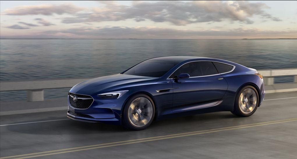 The Beautiful Buick Avista May Have Already Won The Detroit Auto Show Buick Avista Concept Cars Buick