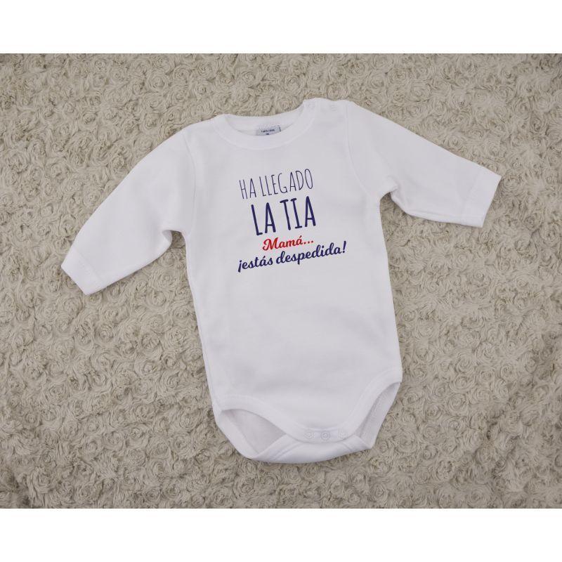 783c8a7b7 Body Bebé Ha LLegado La TÍA Mamá Estás Despedida