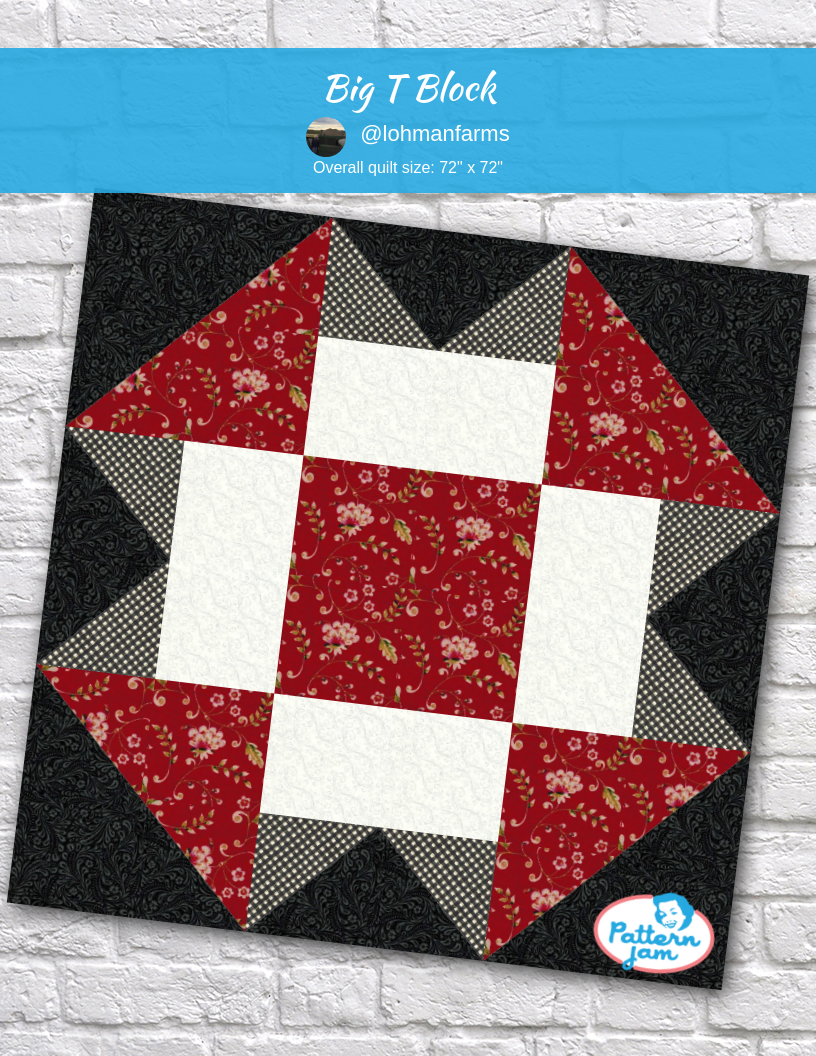 Big T Block Quilt Block Patterns Quilt Block Patterns Quilt