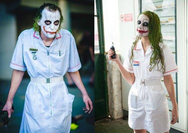 Joker Kostum Selber Machen Ideen Fur Kleidung Schminke Und