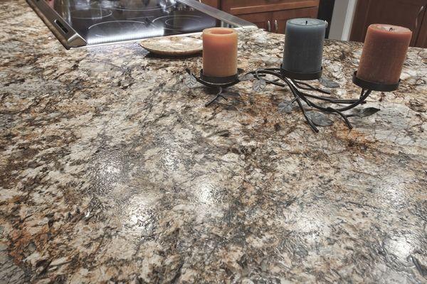 Leder Granit Eine Raffinierte Optik Aus Naturstein Natursteine Granit Granit Arbeitsplatte
