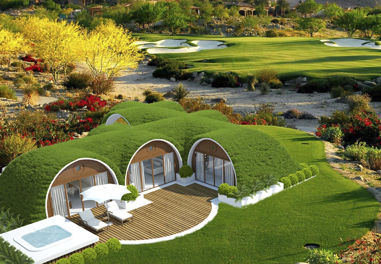 Eco vivienda eco housing green magic prefab underground for Malator underground eco house