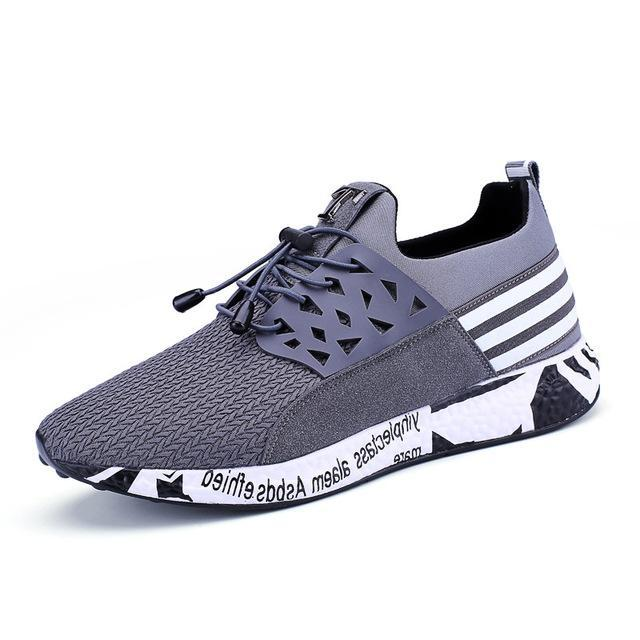 Hot Mens Casual Breathable Sports Mesh Sneakers Athletic Running Shoes Trainers