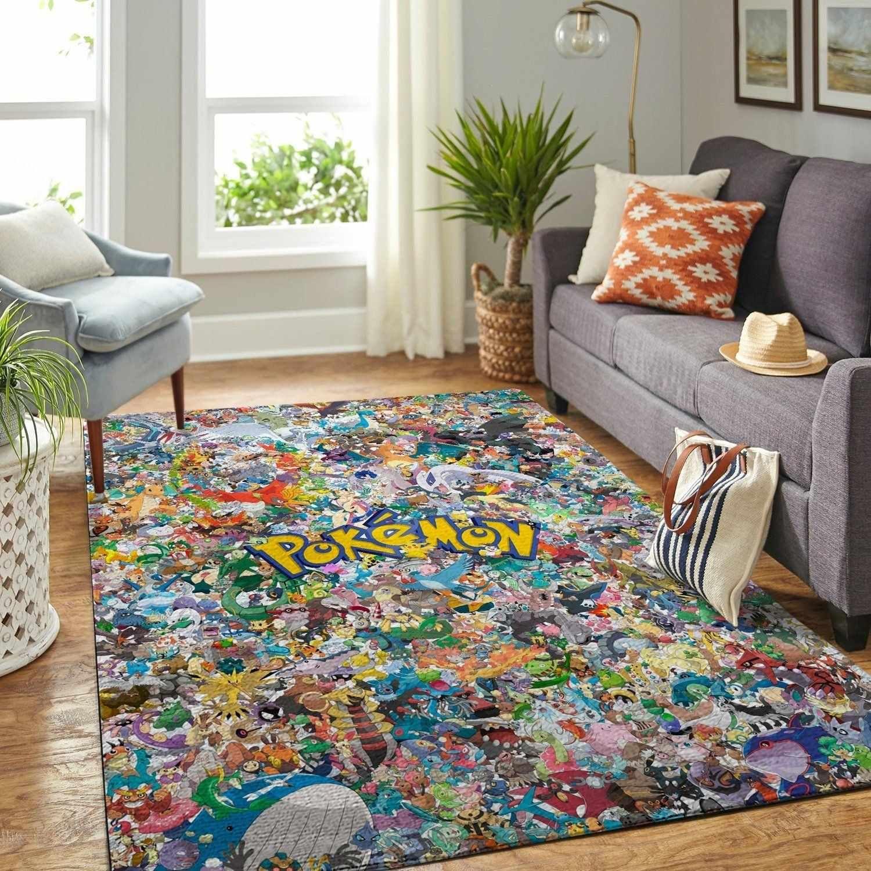 Pokemon Area Amazon Best Seller Sku 2782 Rug Kids Room Area Rugs Floor Decor Rugs In Living Room