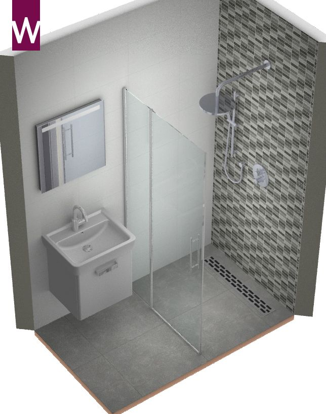 Badkamer ontwerp hele kleine badkamer | Badkamer | Pinterest ...