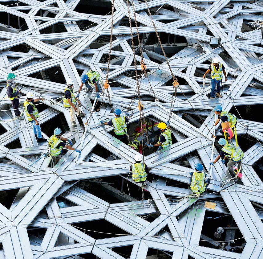 en construccin museo louvre en abu dhabi de jean nouvel arquitectura viva - Arquitecturaviva