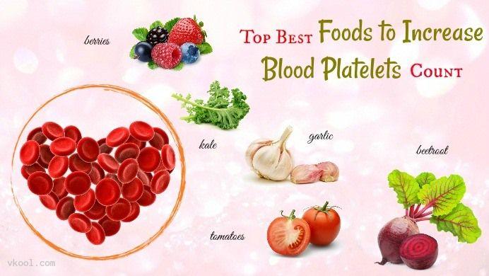 raise platelet count diet