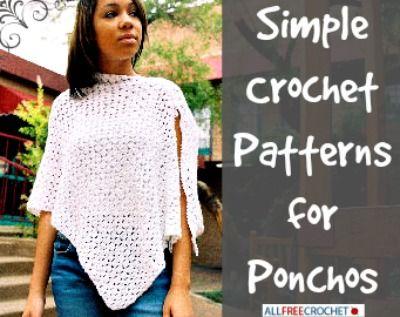 62 Crochet Poncho Patterns Crochet Pinterest Free Crochet