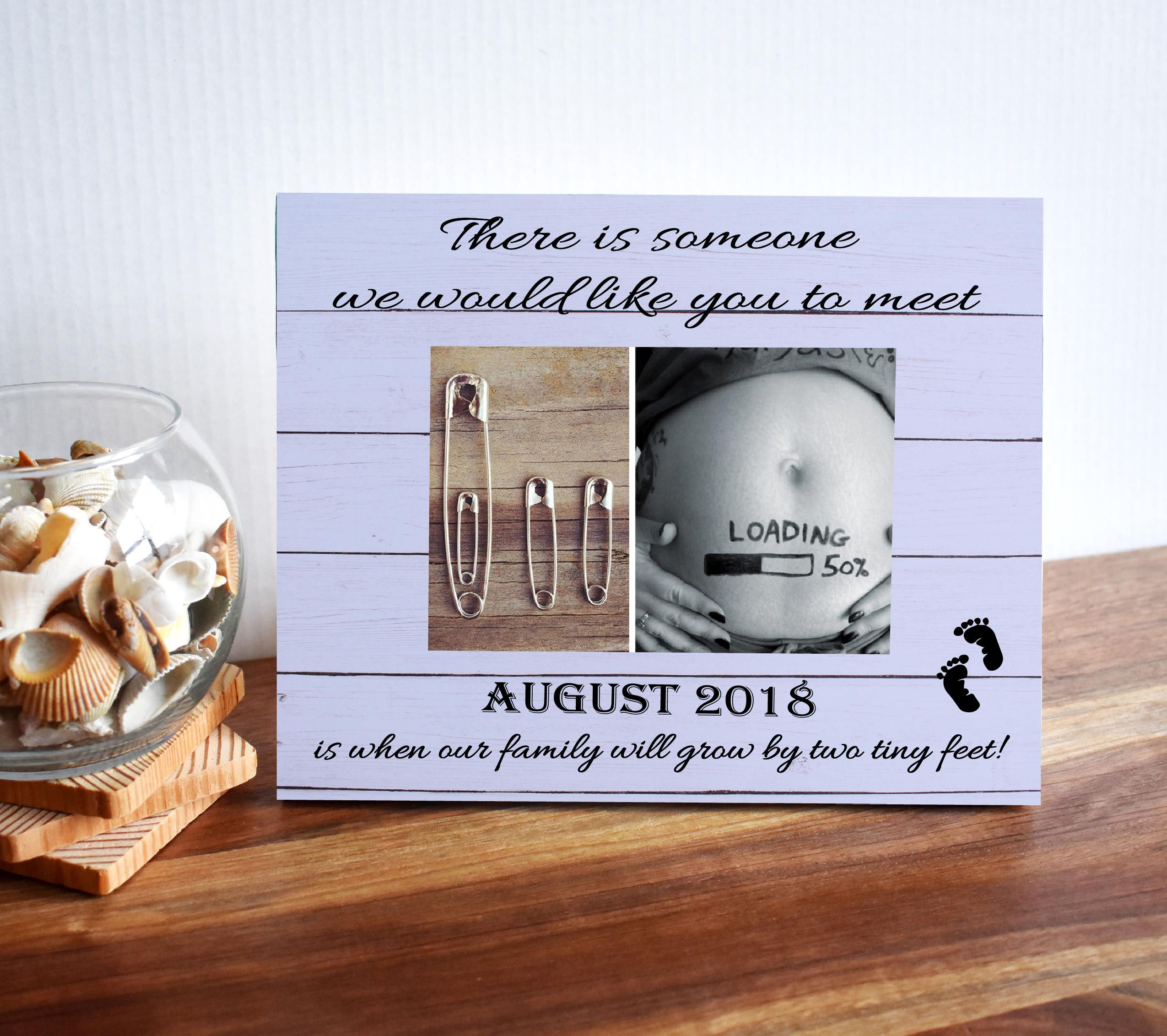 Baby Announcement Ultrasound Frame Baby Shower Gift Gender Reveal