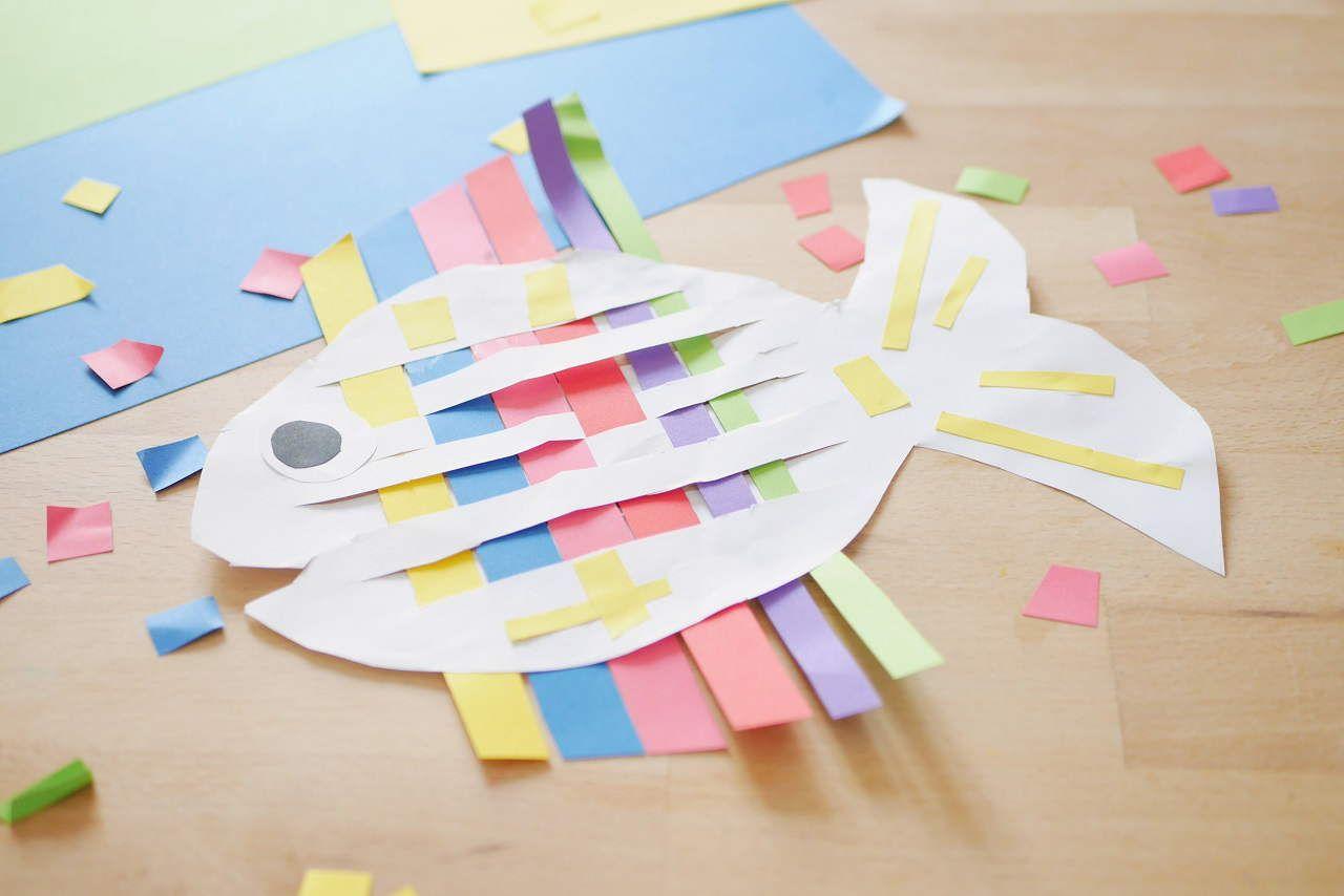 Weben Mit Papier 326 Basteln Mit Kleinkindern Basteln Basteln Mit Papier