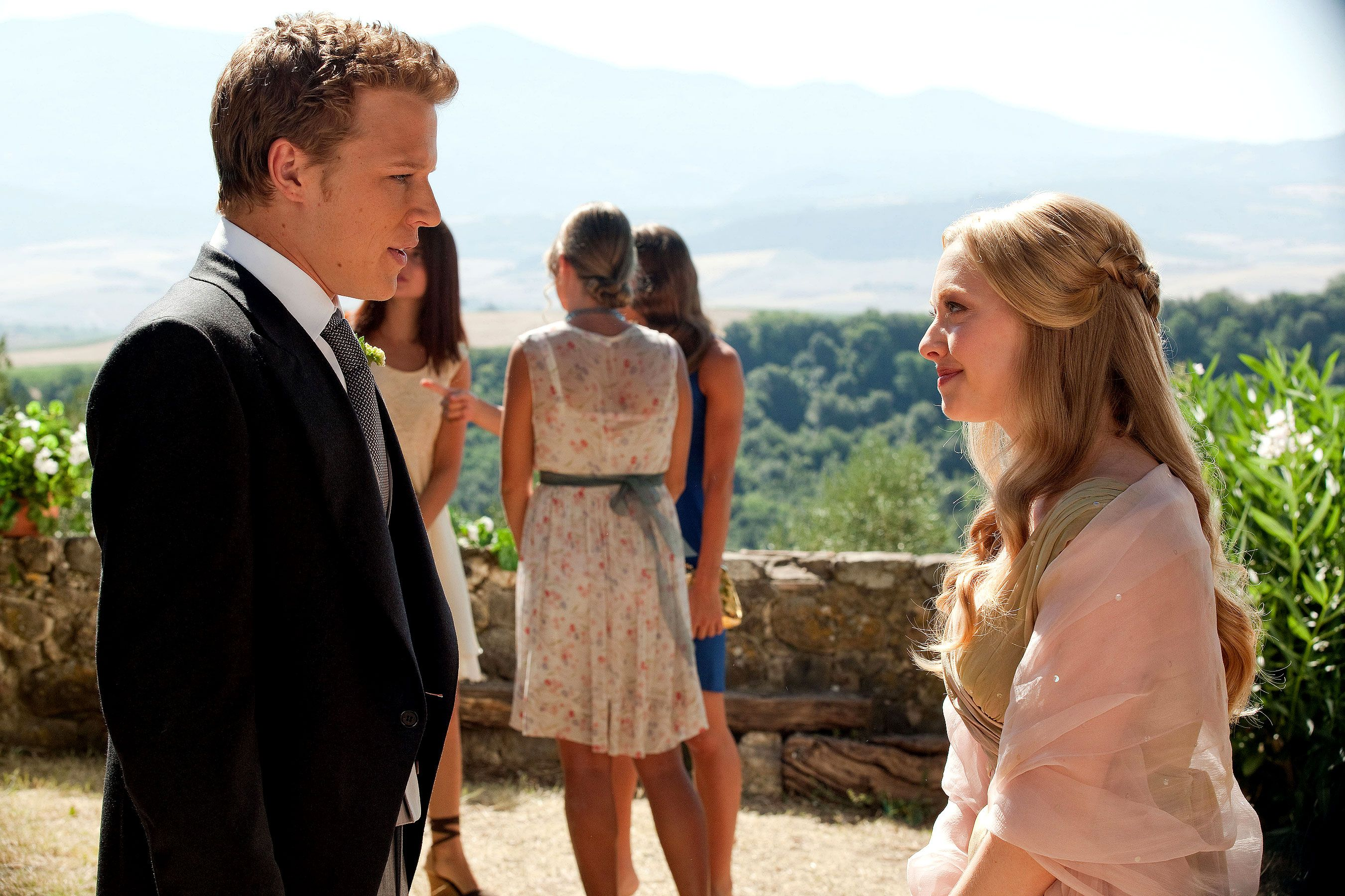 wedding scene #set