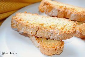 Bem bons: Biscotti de Cardamomo