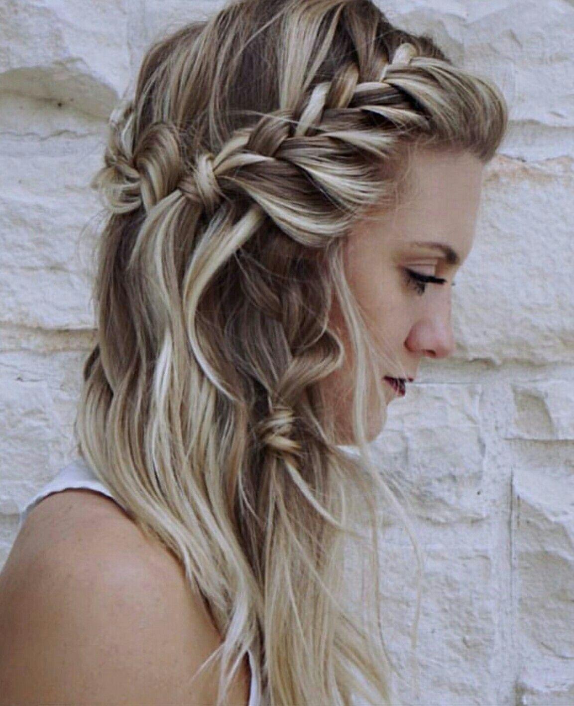 Balayage and boho braids by @hairbyjessica_