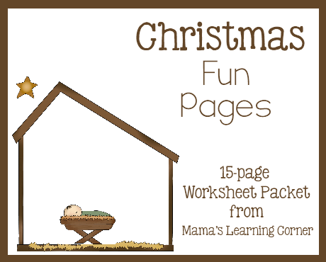 Christmas Fun Pages Free 15 Page Worksheet Set Natale
