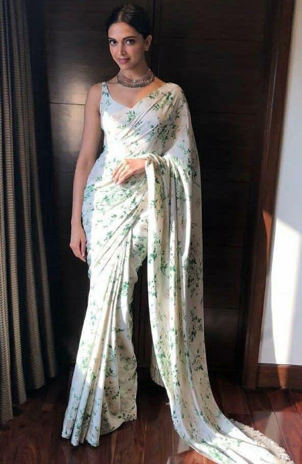 Dipika Padukon | Deepika padukone saree, Indian outfits ...