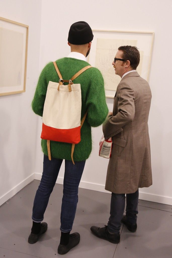 Opening night at Frieze. [Photo by Kyle Ericksen]