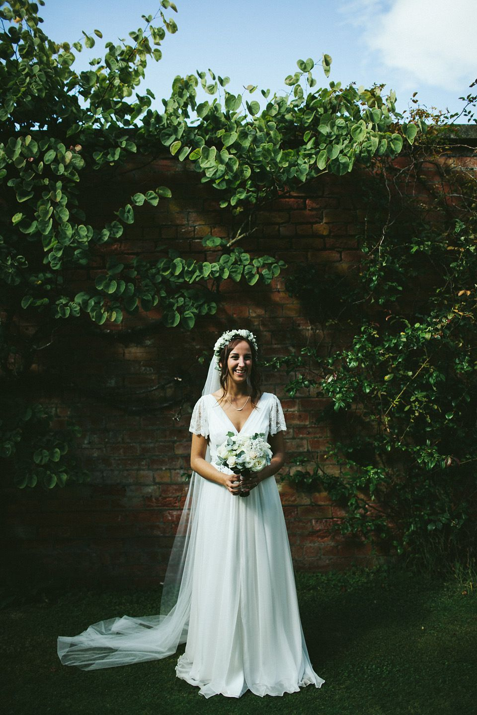 Wedding dresses bolton  Kate Beaumont Lace for a Colourful Relaxed and Lovely Family