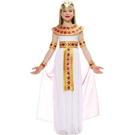 Halloween Costumes For Kidsgirl Walmart.Pink Cleopatra Egyptian Queen Kids Costume Walmart Com